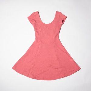 🌸Pink cross back ballerina dress